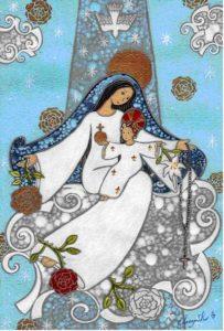 Guylaine Legentil Vierge Marie