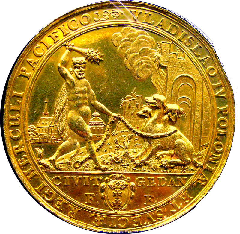 L'attribut alt de cette image est vide, son nom de fichier est 800px-Medal_12_ducats_commemorating_voctories_of_Polish_King_Vladislaus_IV_over_Russia_Turkey_and_Sweden_1637-1.png.