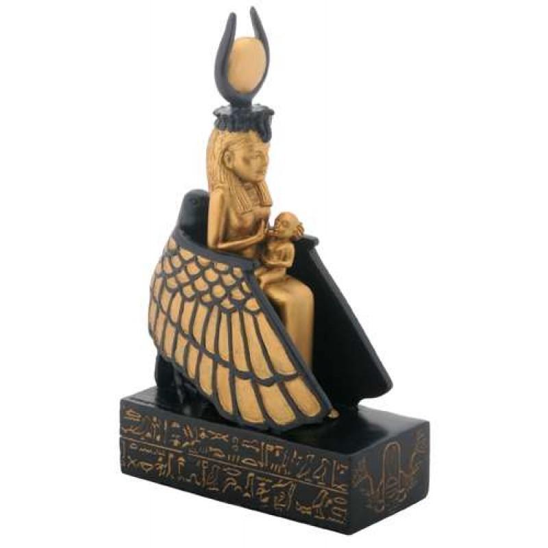 L'attribut alt de cette image est vide, son nom de fichier est 8260-isis-nursing-horus-winged-throne-statue-800x800.jpg.